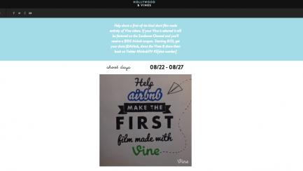 Airbnb'den Vine Kampanyası: Hollywood and Vines