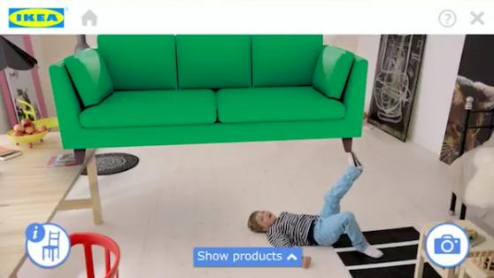 Ikea'dan 2014 Kataloğu İçin Artırılmış Gerçeklik Atağı