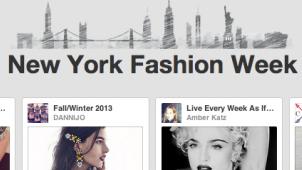 New York Moda Haftasını Pinterest'ten Takip Edin
