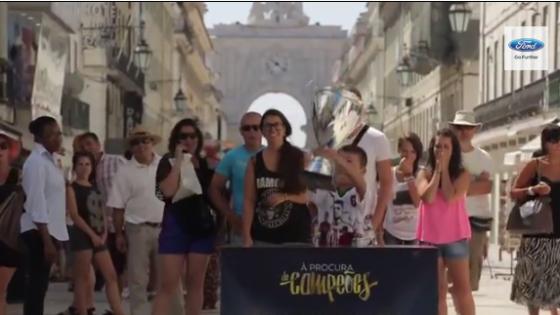 Ford'un UEFA Kupasını Yalnızca Çocuklar Kaldırabiliyor