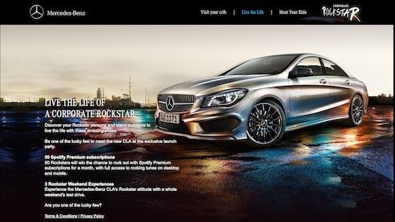Mercedes'le Spotify'da Kendi Rockstar Kimliğinizi Keşfedin