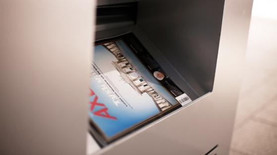 İstediğiniz Dergiyi Anında Basan Kiosk: MegaNews