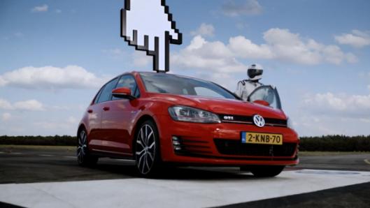 Volkswagen Golf GTI İçin Müthiş Banner: Yakala Yakalayabilirsen