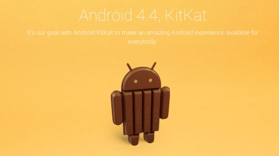 Yeni Android sürümünün adı KitKat oldu