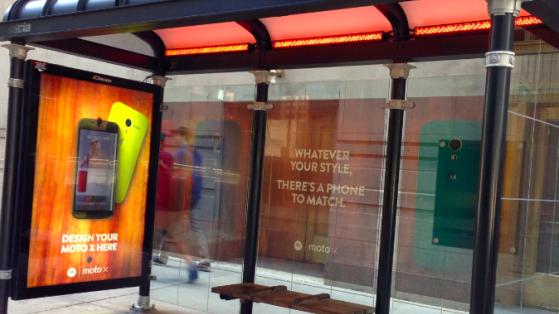 Moto X'in Etkileşimli Reklam Panosu ile Kendi Telefonunuzu Tasarlayın