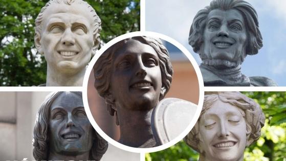 Diş Macunu Markası Şehrin Ünlü Heykellerini Gülümsetirse