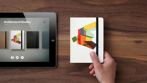 iPad Çizimlerini Kişiselleştirilmiş Moleskine'e Çeviren Uygulama: Book