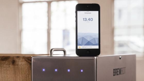 Evde Bira Yapma Kiti Akıllı Telefonla Buluştu: Brewbot