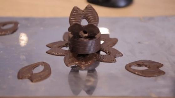 Çikolata ve 3B Baskı Teknolojisi Birleşirse: Chocnology