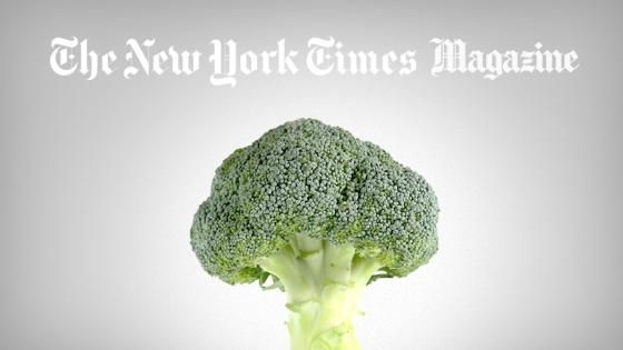 The New York Times İyi Bir Pazarlamayla Brokoliyi Havalı Bir Yiyecek Yapabilecek miydi?