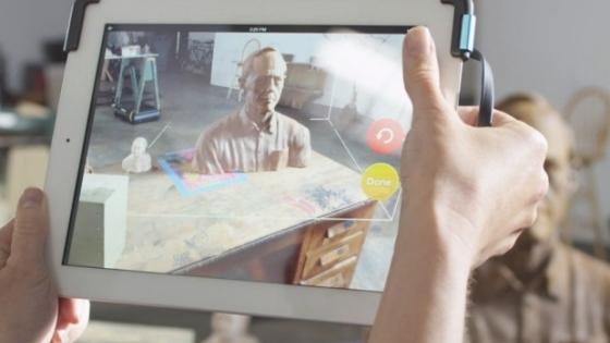 iPad'inize Takılan Cihaz 3 Boyutlu Tarayıcı Görevi Görüyor