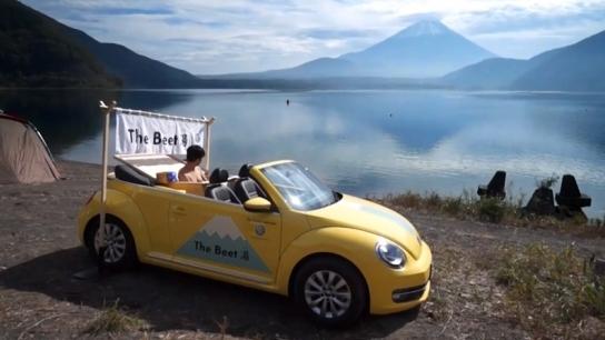 Volkswagen Beetle'a Özel Jakuzili Tasarım