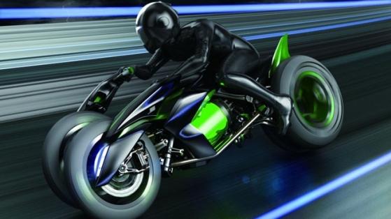 Kawasaki J: Anime'den Fırlamış Bir Motor Konsepti