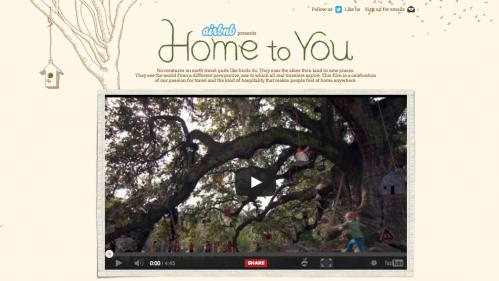 Airbnb'den Mükemmel Hikaye Anlatımı: Home to You #birdbnb
