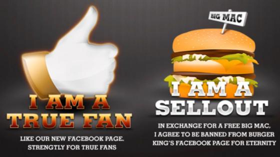 Burger King Facebook Takipçilerine Rest Çekerse