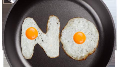 Pişirilebilir Font: Yumurta Alfabesi