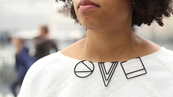 3 Boyutlu Baskı Teknolojisiyle Üretilmiş Yaratıcı Giysi Aksesuarları