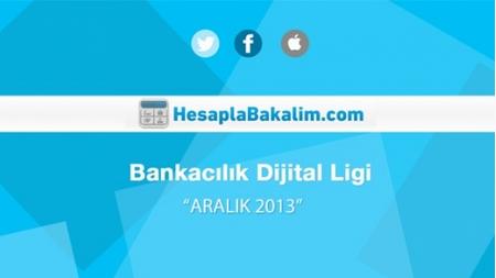 Bankacılık Sektörü Aralık 2013 Dijital Raporu