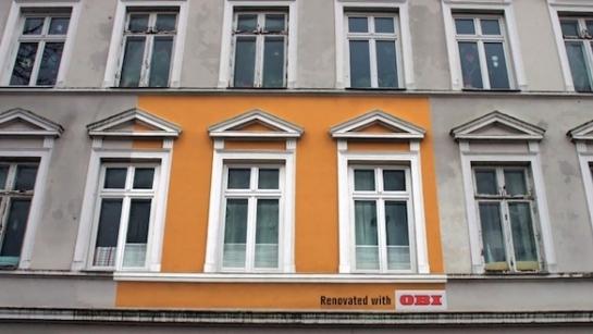 Binaları Kafasına Göre Reklam Mecrasına Dönüştüren Marka