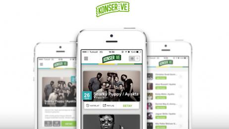 Garanti'den Konser Takipçilerine Mobil Uygulama: KonserVe