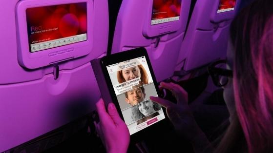 Virgin America'dan İş İnsanlarına Uçuş-içi Sosyal Medya Deneyimi