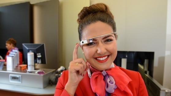 Virgin Atlantic Google Glass İle Yolculara Daha Kişiselleştirilmiş Bir Deneyim Yaşatıyor
