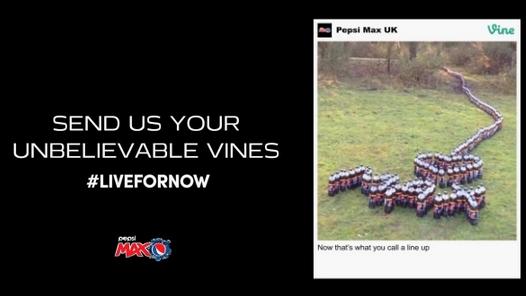 Pepsi Reklam Panosu İçeriğini Vine'dan Alan İlk Marka Oldu
