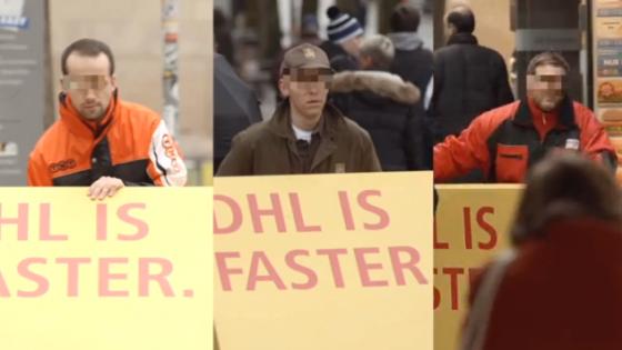 DHL Diğer Kargo Firmalarını Trollüyor