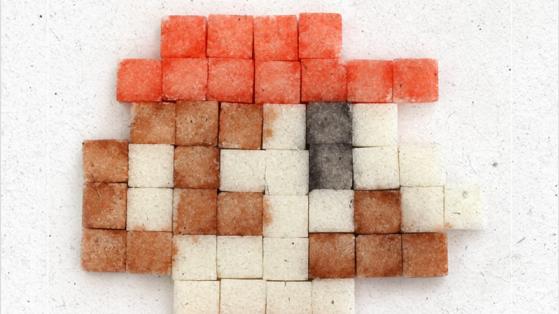 Şeker Küplerinden Piksel Kahramanlar