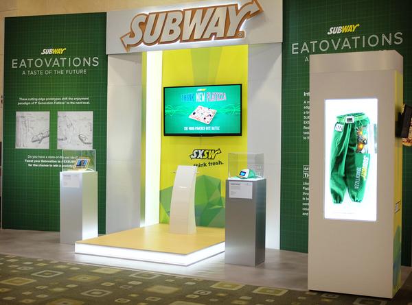 Subway'in Beyin Dalgaları Oyunu [SXSW 2014]