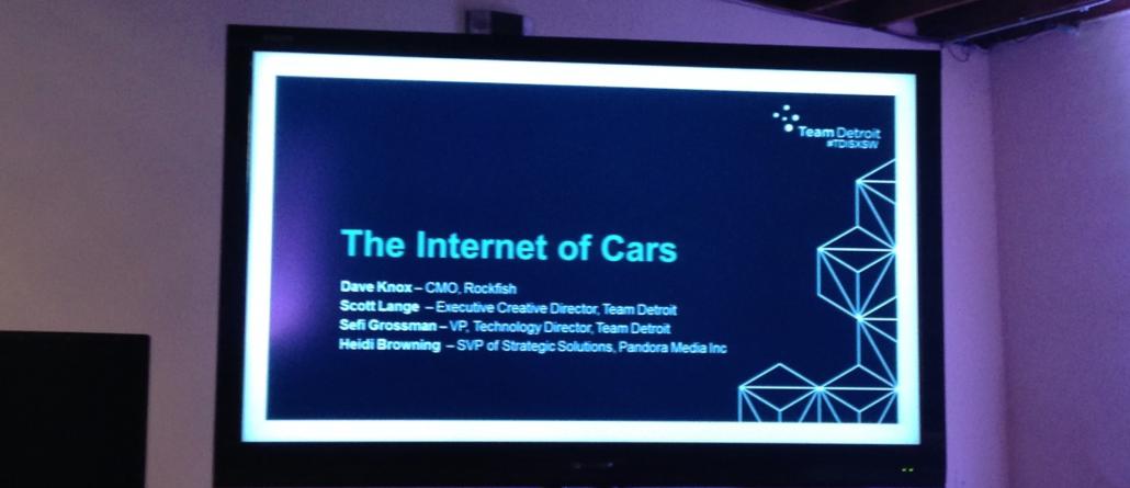 Otomobillerin İnterneti [SXSW 2014]