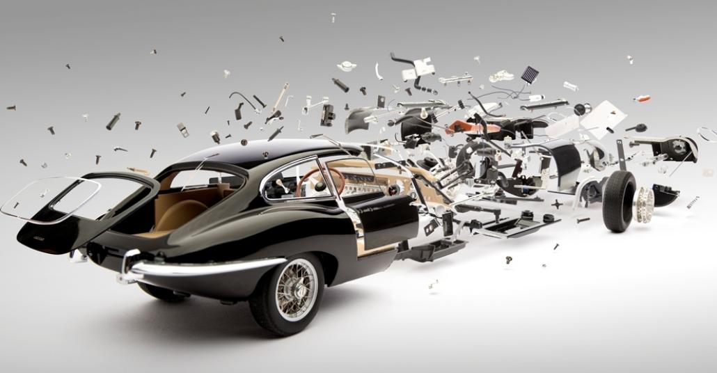 Fabian Oefner'in Patlayan Otomobilleri