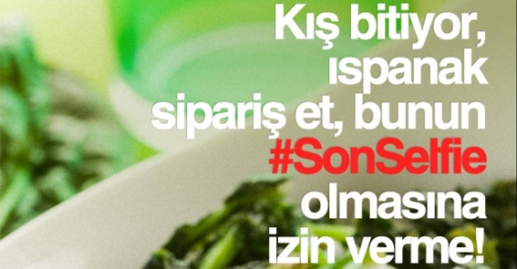 Yemeksepeti, #SonSelfie Kampanyasını Besliyor