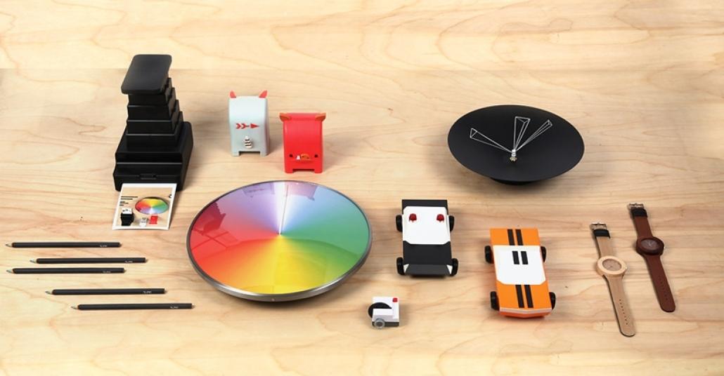 MoMA Tasarım Dükkanı'nda Kickstarter Reyonu