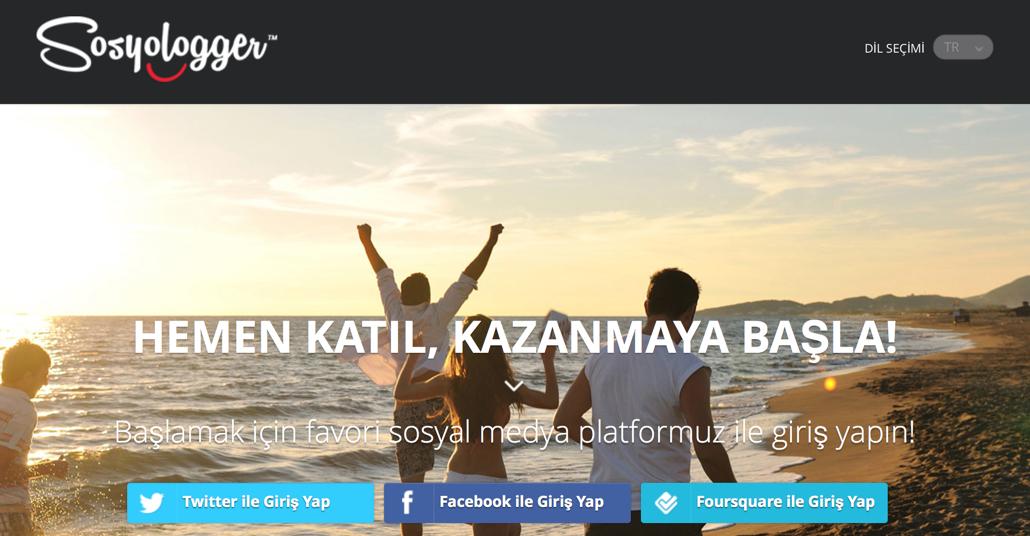Türkiye'de Bir Sosyal Etkinlik Ölçüm Projesi: Sosyologger