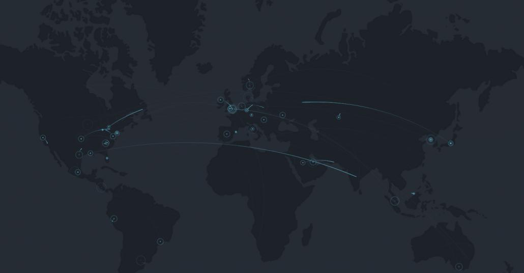 İki Kişilik Mesajlaşma Uygulaması Couple'dan İnteraktif Harita