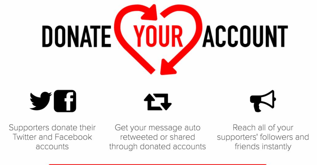 Sosyal Medya Hesabını Otomatik Paylaşım İçin Bağışlamak