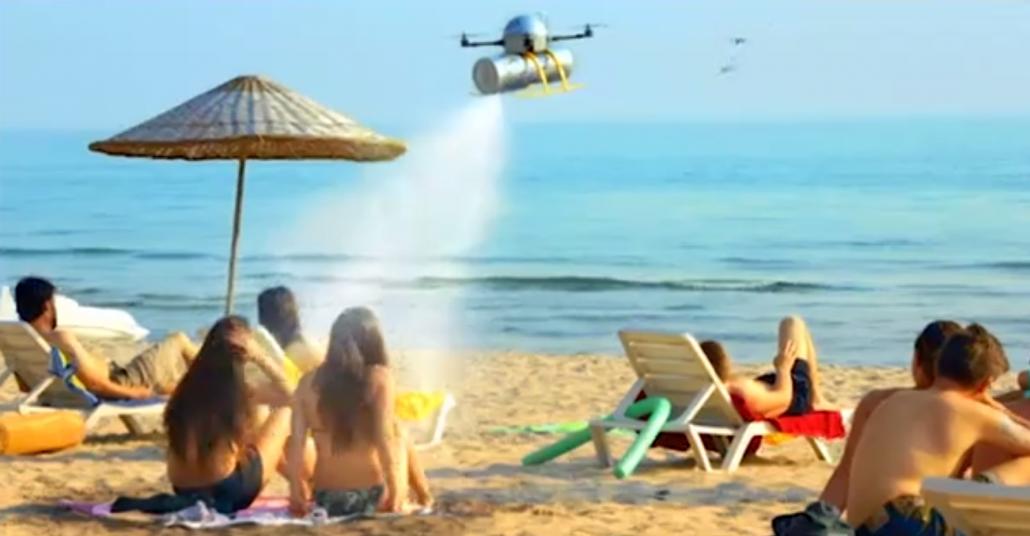 Sprite Zero'dan Dronla Gelen Serinlik