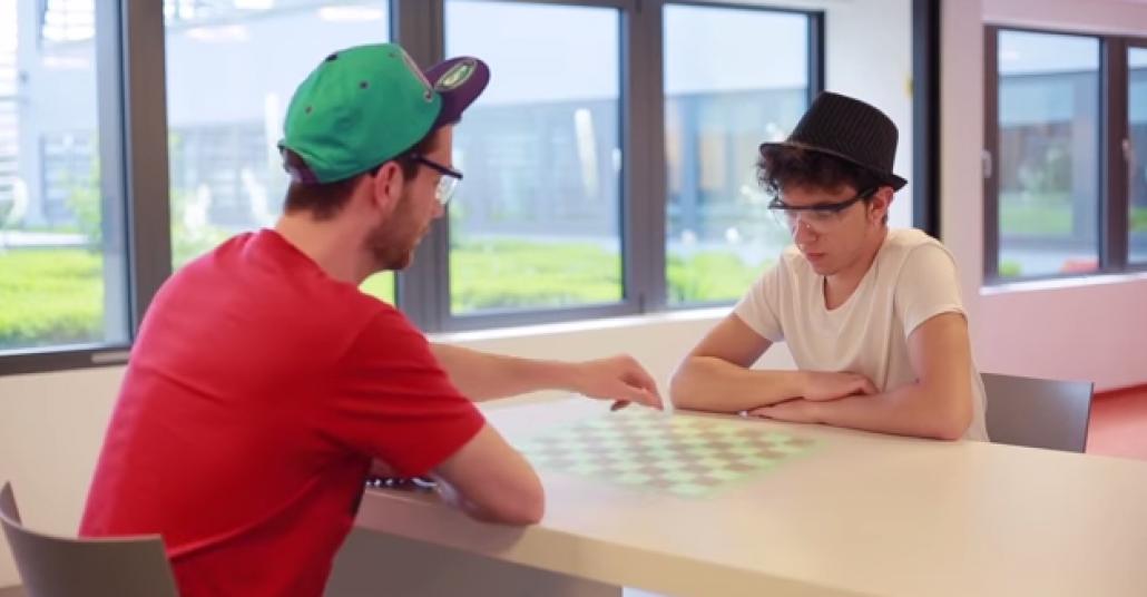 Thermal Touch: Dokunduğunuz Her Yeri Etkileşimli Ekrana Çeviren Arayüz