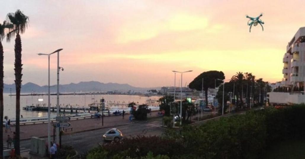 Twitter Cannes Lions'dan Drone ile Renkli Görüntüler Paylaşıyor