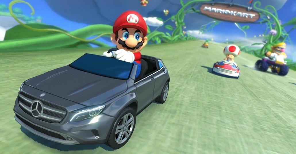 Mercedes-Benz GLA Mario Kart Oyunuyla İşbirliği Yaptı
