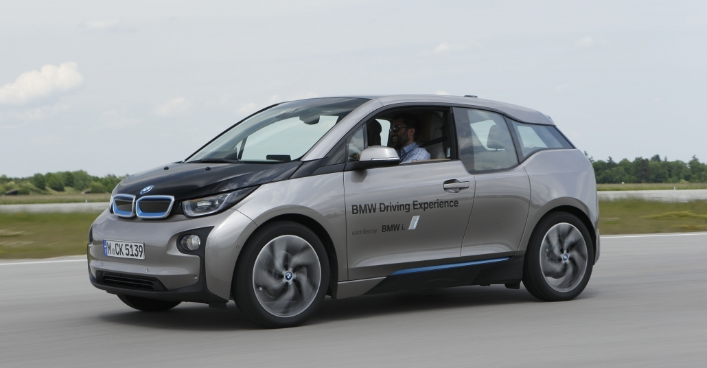 BMW i3'le Münih Yollarında Bir Gün