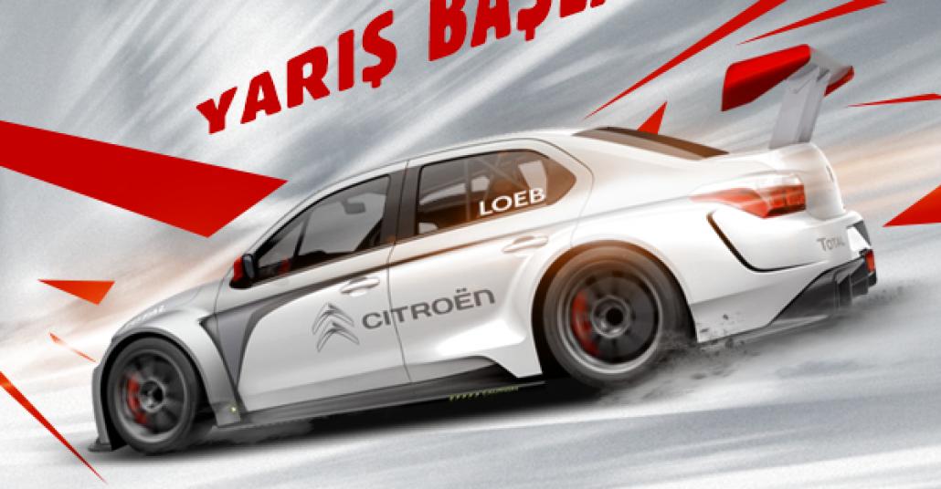 Citroen ile WTCC Belçika Yarışı [Advertorial]