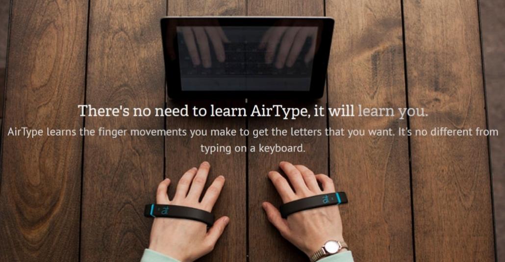 AirType: Klavyesiz Klavye