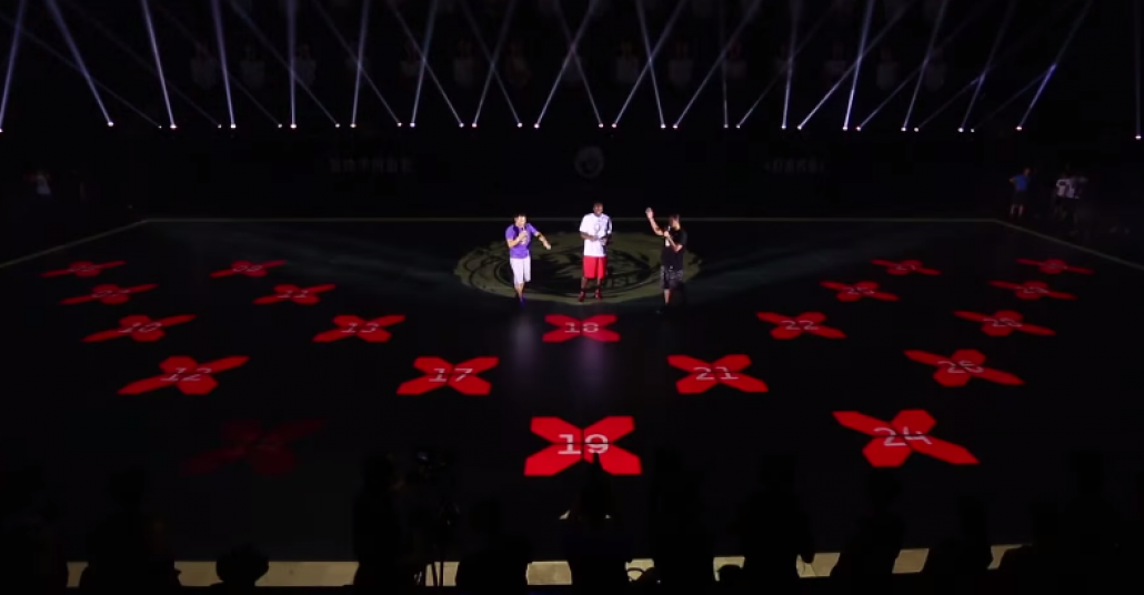 Nike'den LED Basketbol Sahası