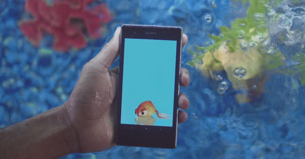 Sony'nin Su Geçirmez Telefonu İçin Geliştirilen Sualtı Uygulamaları
