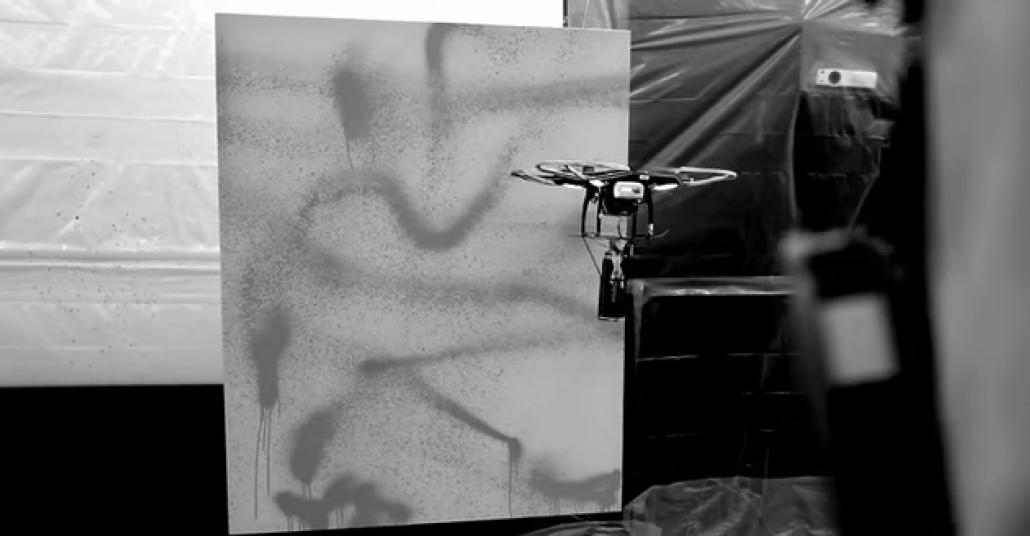 Graffiti Yapan Drone