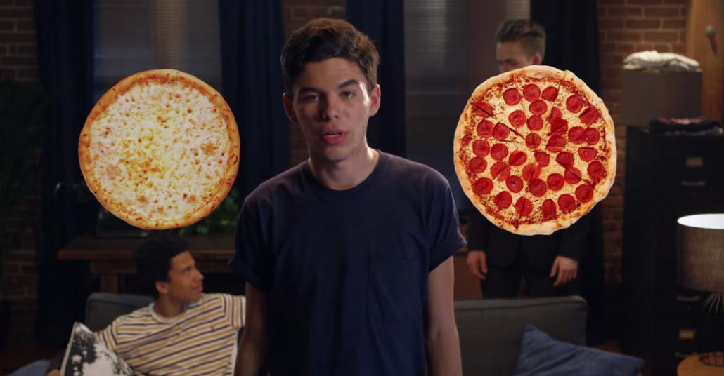 Tek Düğmeyle Pizza Siparişi Uygulaması: Push For Pizza