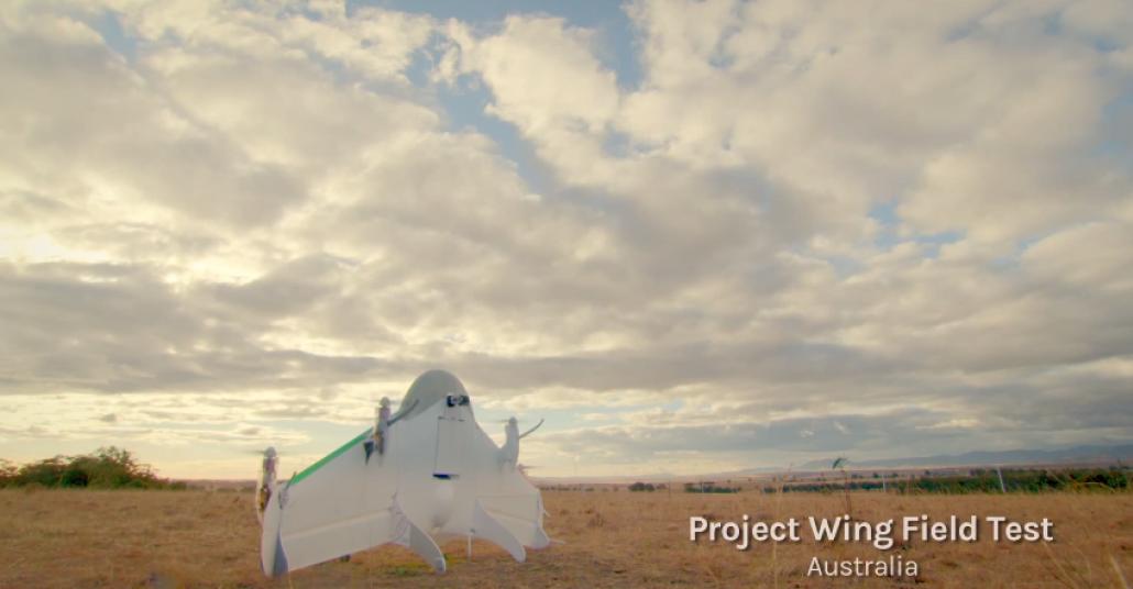 Google'ın Dronu Wing, Kuryelerin İşine Talip