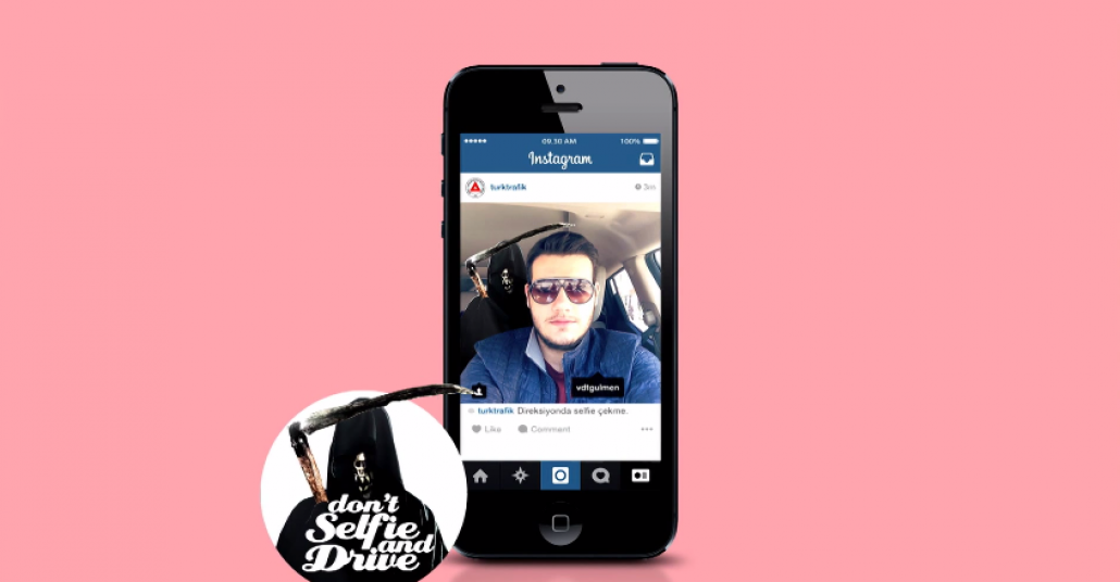 Instagram'da Selfie Karşıtı Proje